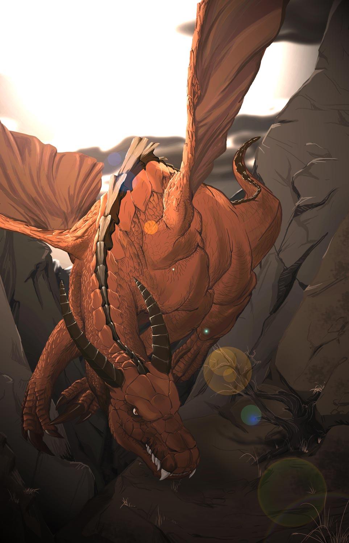 illustration dragon Eva MARTIN